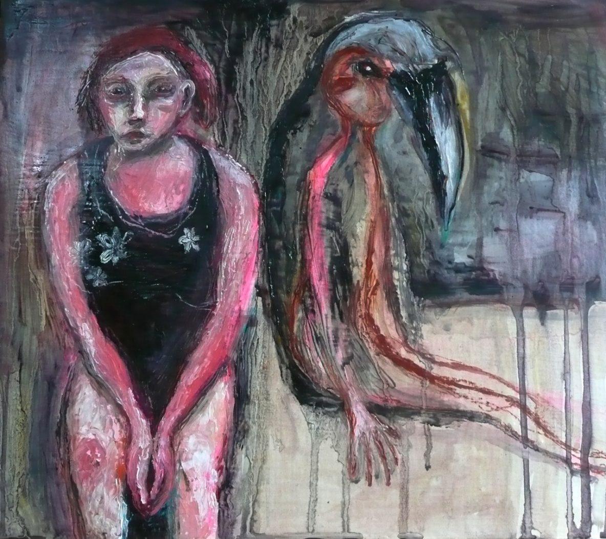 Girl-with-child-turning-crowlike