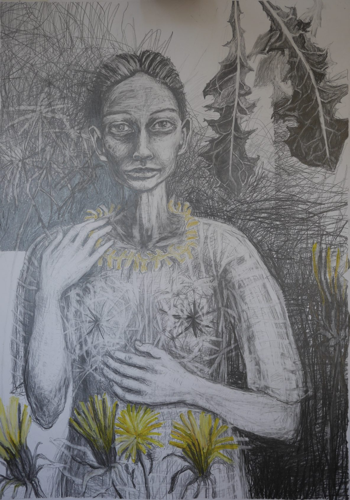 Woman with Dandelions